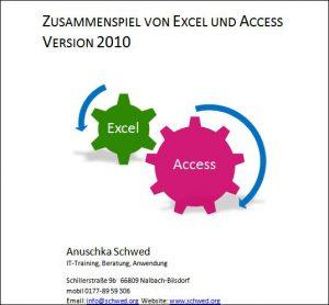 Excel und Access im Zusammenspiel